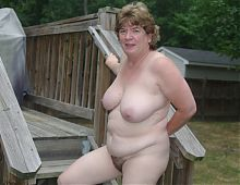 Kay Ward Nude Outside